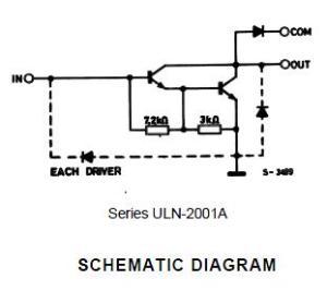 schematic driver (rangkaian penguat daya)