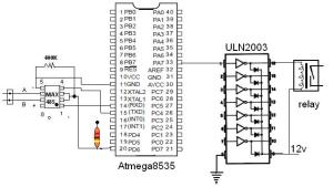 slave rs485-controler-atmega8535