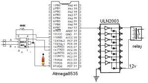 skematik rs485 ke mikrokontroler