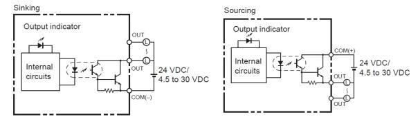 moduoutputtransistor