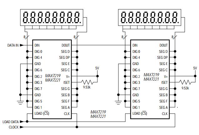 Segment dengan SPI MAX7221 dan MAX7219 | DASAR KOMPUTER BUAT PEMULA