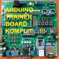 Arduino Trainer Board Komplit